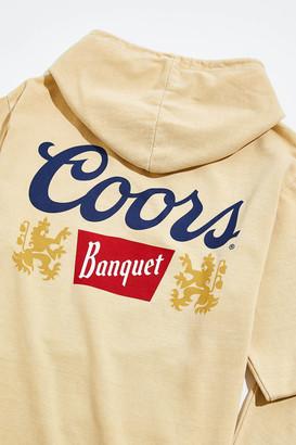 Urban Outfitters Coors Banquet Beer Logo Hoodie Sweatshirt