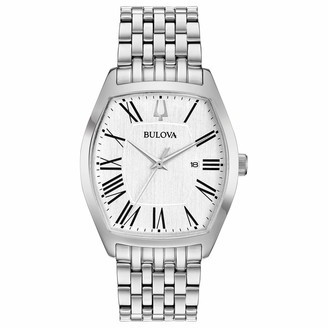 Bulova Women's Analogue Classic Quartz Watch with Stainless Steel Strap 96M145