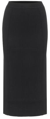 Jonathan Simkhai Sienna ribbed-knit midi skirt