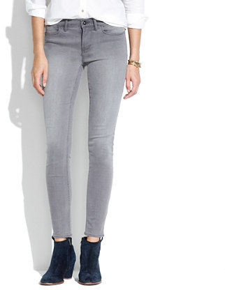 Madewell Skinny Skinny Ankle Jeans in Thundercloud Wash