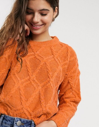 Raga Clementine cable knit jumper