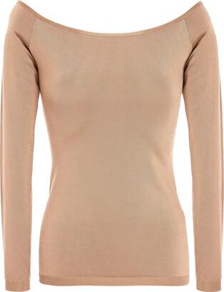 Valentino Silk-blend Jersey Top