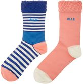 Elle Striped Bamboo True Socks