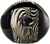 Versace Zebra Le Noir Vase
