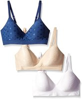 Barely There Women's Custom Flex Fit Seamless Wirefree Bra (Pack of 3)