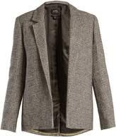 A.P.C. Hall tweed-checked jacket