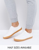 Asos Delphine Stripe Lace Up Trainers