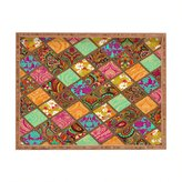 DENY Designs Aimee St Hill Patchwork Paisley Rectangular Tray