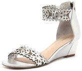 Django & Juliette New Revoke Silver Womens Shoes Dress Sandals Heeled