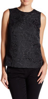 Theory Aster Jacquard Shell Blouse