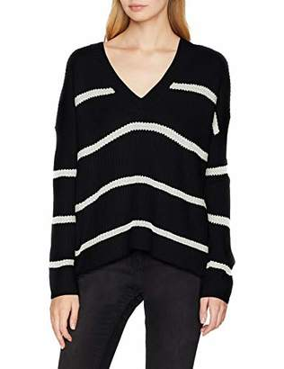 Vero Moda Women's Vmjasmin Ls V-Back Blouse Jumper,12 (Size: Medium)