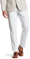 Bonobos Foundation Grey Woven Regular Fit Double-Pleated Cotton Trouser - 30-32 Inseam