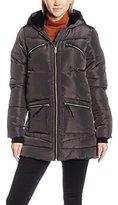Dorothy Perkins Women's Padded Faux Fur Lined Hood Coats,8