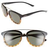 Smith Optics Women's 'Clayton' 54Mm Polarized Sunglasses - Black Tortoise/ Polar Green