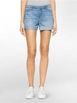 Calvin Klein Denim Light Wash Weekend Shorts