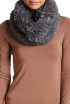 Steve Madden Shaggy Faux Fur Cowl Neck Infinity Scarf