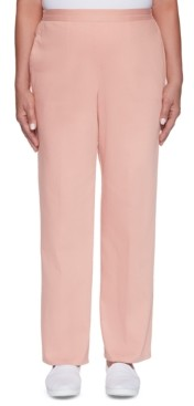 Alfred Dunner Pearls of Wisdom Colored Pull-On Jeans