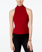 XOXO Juniors' Illusion Cutout-Back Top