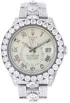 Rolex White Gold Sky Dweller with Diamonds -42MM