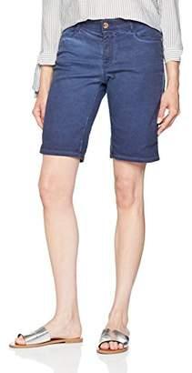 Street One Women's A371469 Bermuda Shorts, Blue (deep Blue 138), UK