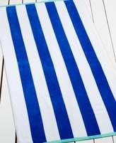 Martha Stewart Collection Sandcastle Stripe Beach Towel