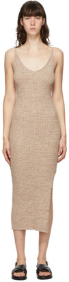 ANNA QUAN Beige Nash Dress