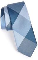 The Tie Bar Men's 'Bison' Silk Plaid Tie
