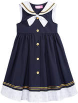 Good Lad Sailor Dress, Little Girls (4-6X)