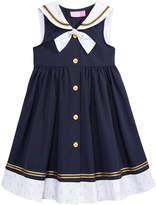 Good Lad Sailor Dress, Little Girls