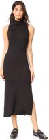 Lanston Turtleneck Slit Dress