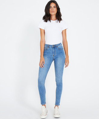 Insight Molly Mid Rise Skinny Jeans Origin Blue
