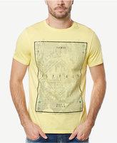 Buffalo David Bitton Men's Tabed Graphic-Print Logo Cotton T-Shirt
