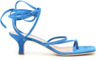 Paris Texas Lace Up Sandals
