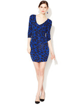 Tracy Reese Ruched Side Raglan Sleeve Dress