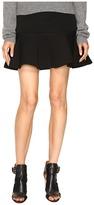McQ by Alexander McQueen Peplum Mini Skirt