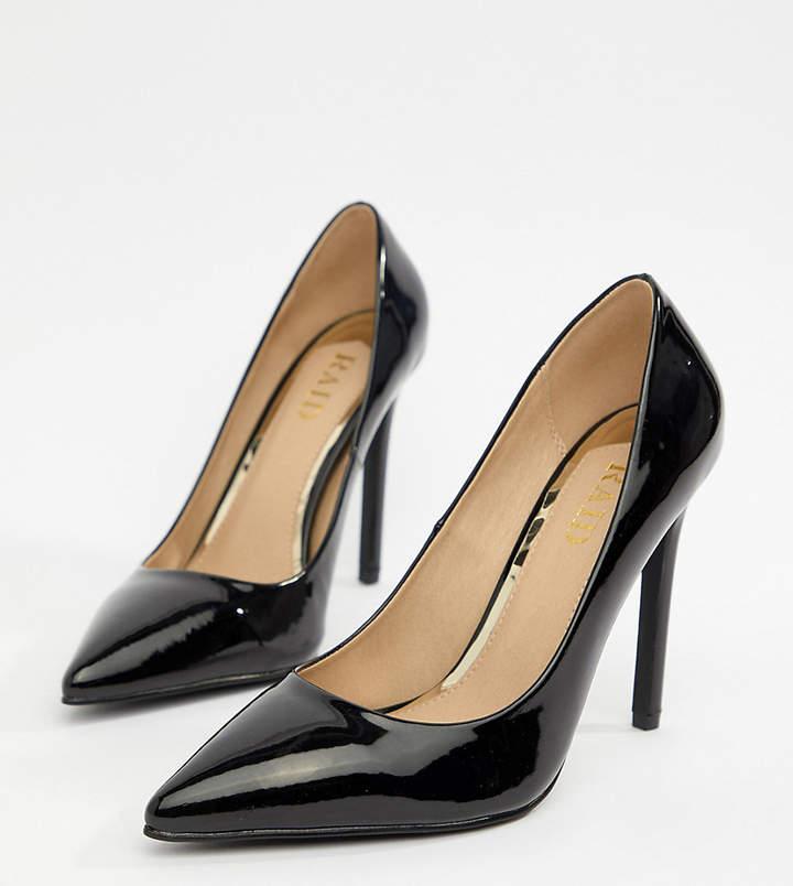 f100b508874 Raid Wide Fit RAID Wide Fit Pauline Patent Court Shoes