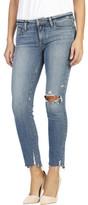 Paige Skyline Ankle Peg Jean With Destruct