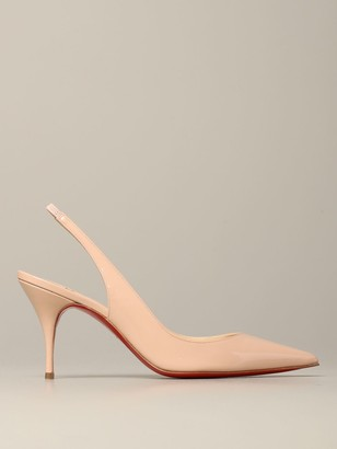 Christian Louboutin Clare Patent Leather Sling Back