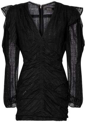 Isabel Marant Getya broderie-anglaise cotton minidress