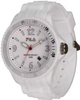 Fila Unisex Watch Analogue Quartz White & 1023 62