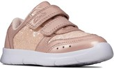 Clarks Toddler Girls Ath Sonar Trainers - Pink