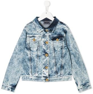 Versace Stonewashed Denim Jacket