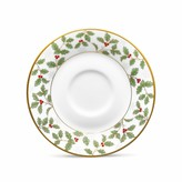 Noritake Holly and Berry Gold Saucer
