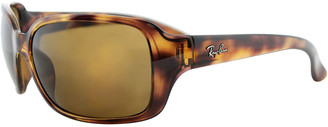 Ray-Ban Women's Rb4068 60Mm Polarized Sunglasses