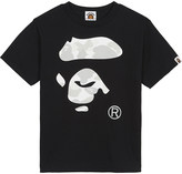 A Bathing Ape Cotton logo T-shirt 4-8 years