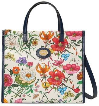 Gucci floral print tote