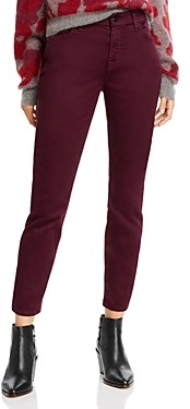7 For All Mankind Jen7 by Sateen Skinny Ankle Jeans