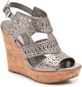 GUESS Women's Vannora Wedge Sandal