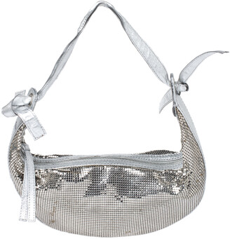 Chloé Silver Metal Mesh and Leather Chainmail Hobo