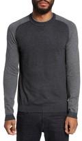 Ted Baker Men's Pepmint Herringbone Sleeve Sweatshirt
